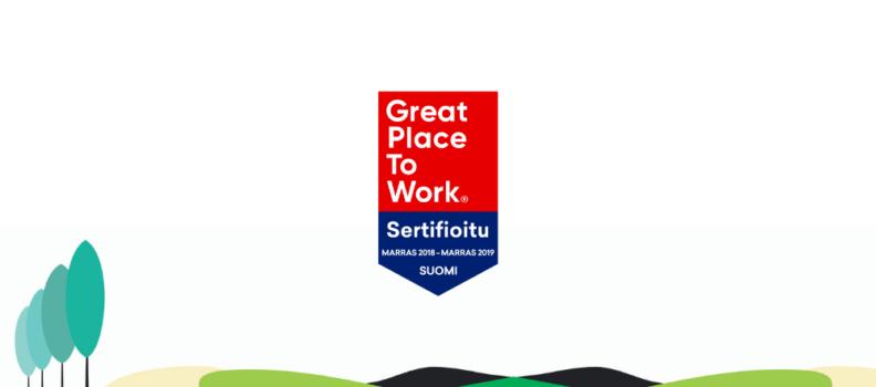 Panostaminen johtamiseen, työkulttuuriin ja yhteishenkeen toivat Gainerille jälleen GPtW sertifioinnin!